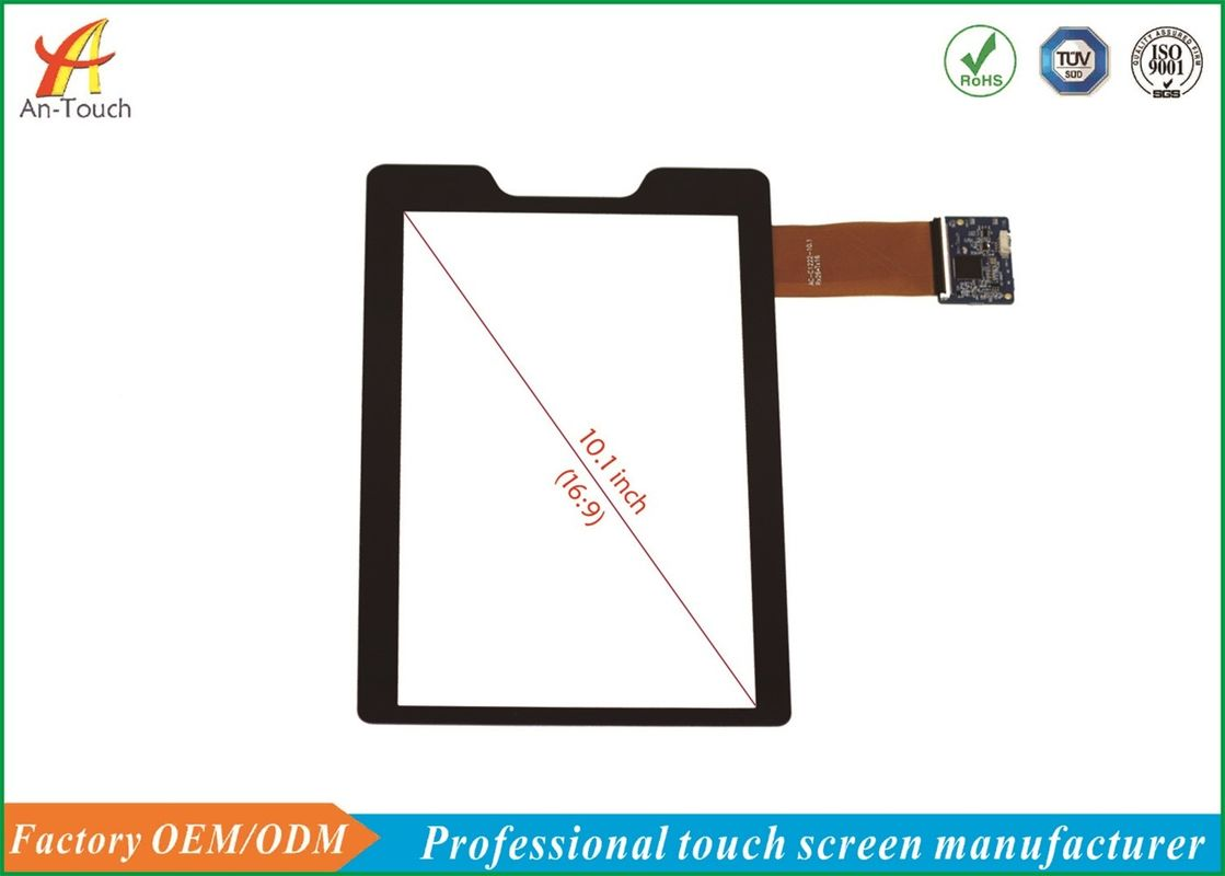 Flexible Capacitive Touch Screen , 10.1 Inch Tablet Screen Replacement